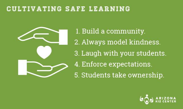 5 Tips for a Safe Learning Community