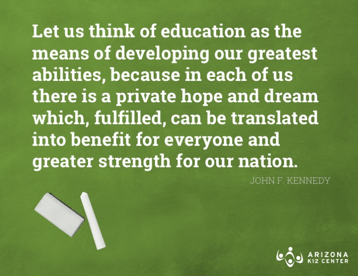 JFK: Education Drives Our Nation's Hopes and Dreams