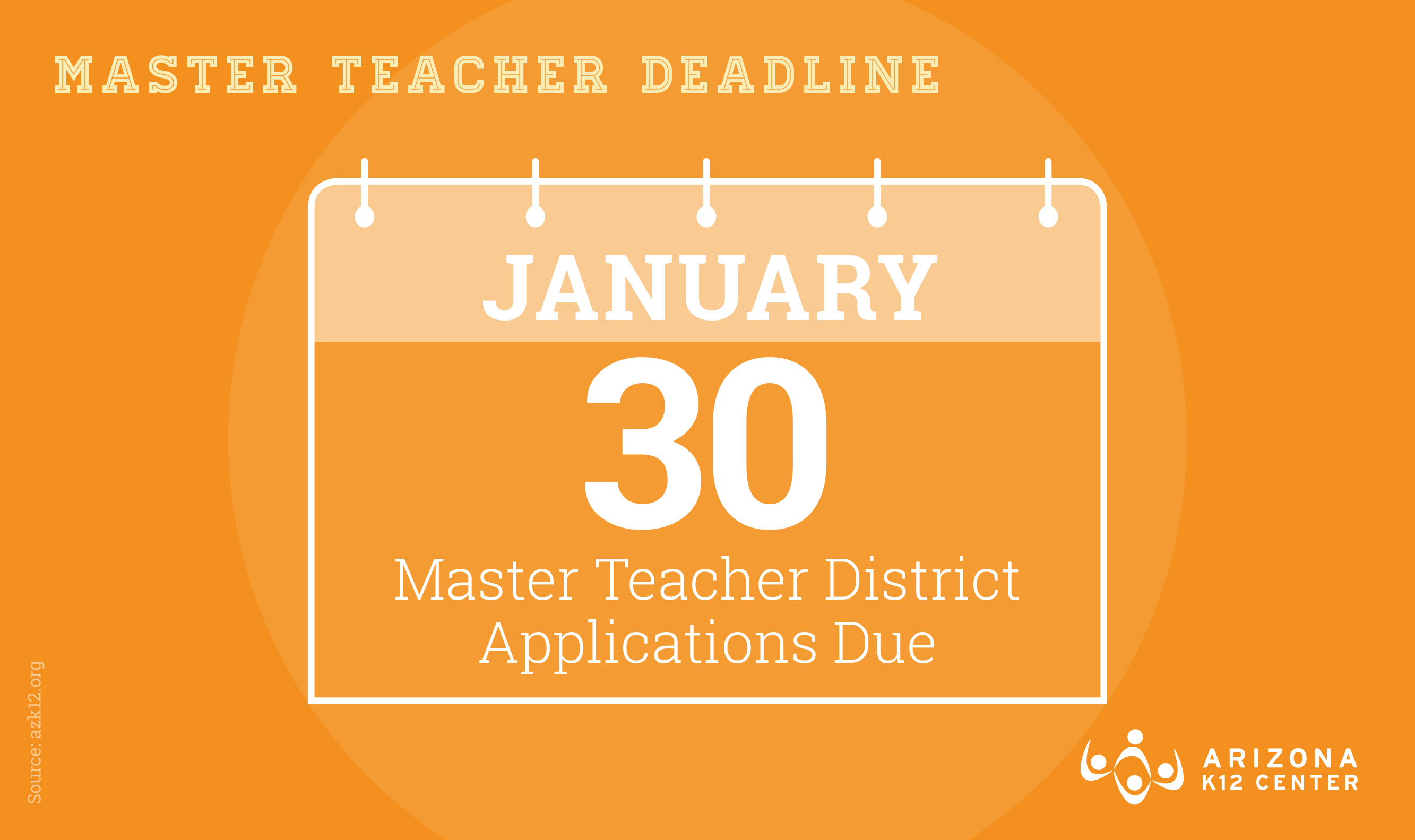 Master Teacher Applications are Due Soon – Don't Miss the Date!