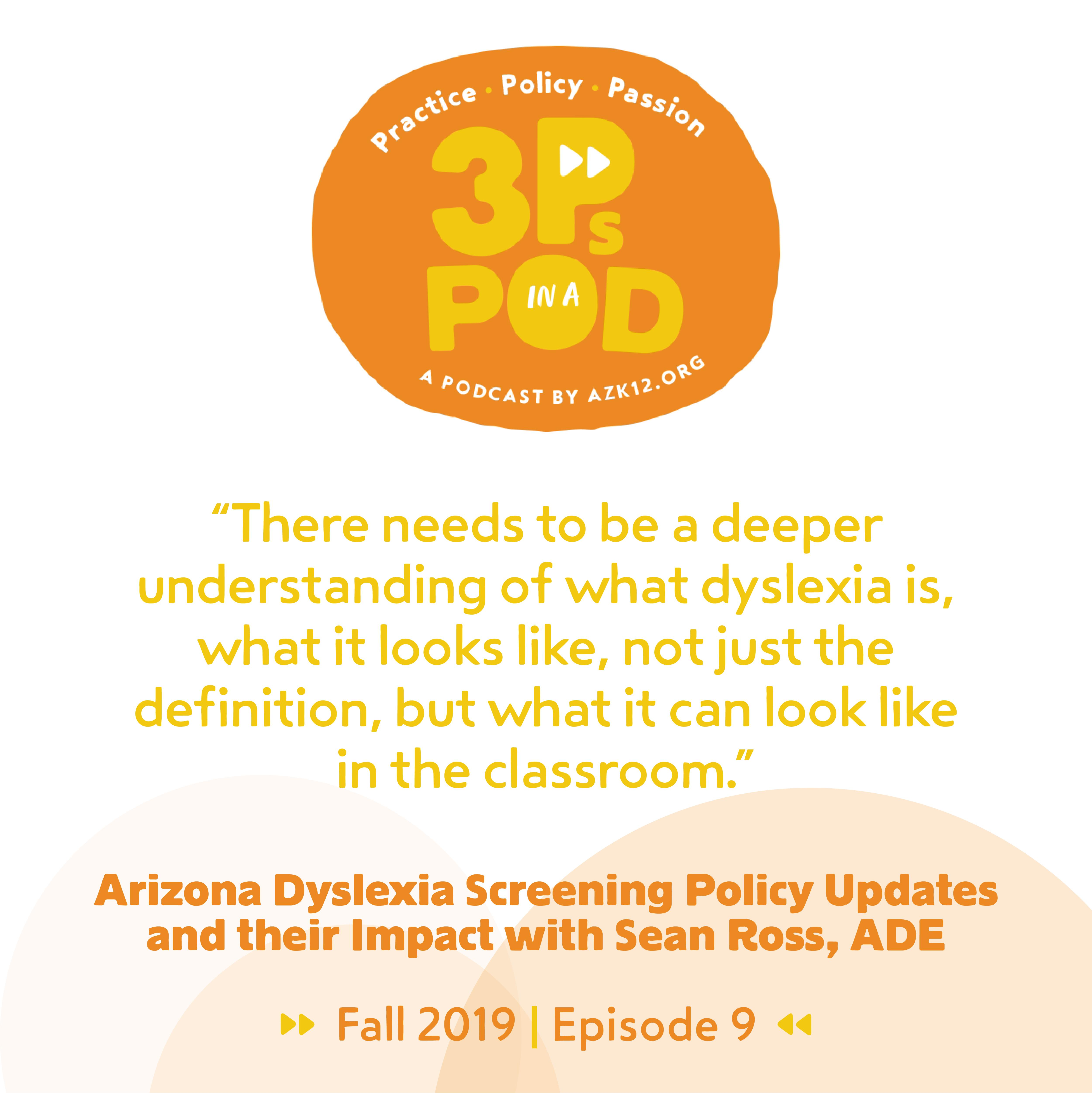 "More from ""Arizona Dyslexia Screening Policy Updates and their Impact with Sean Ross"""