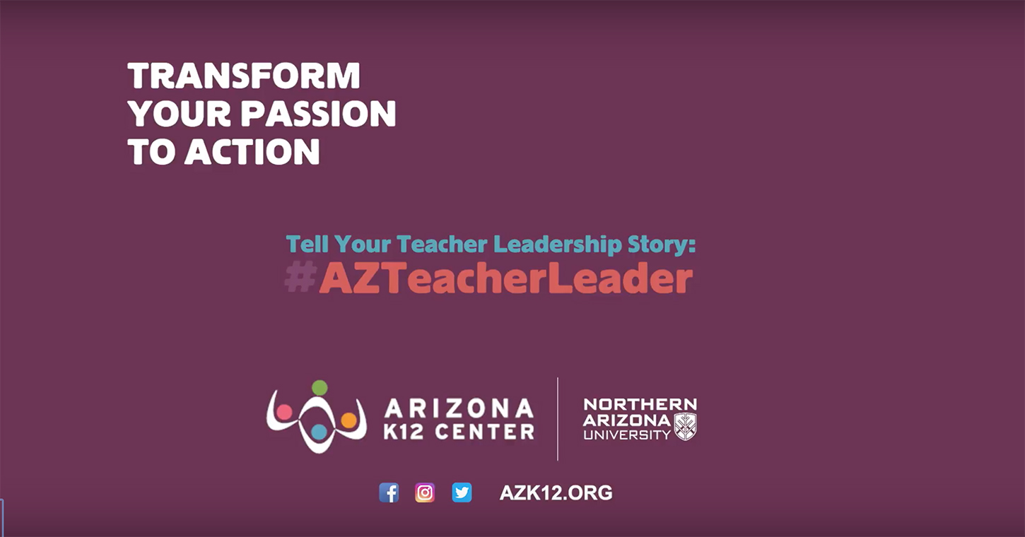 Tell Your Teacher Leadership Story