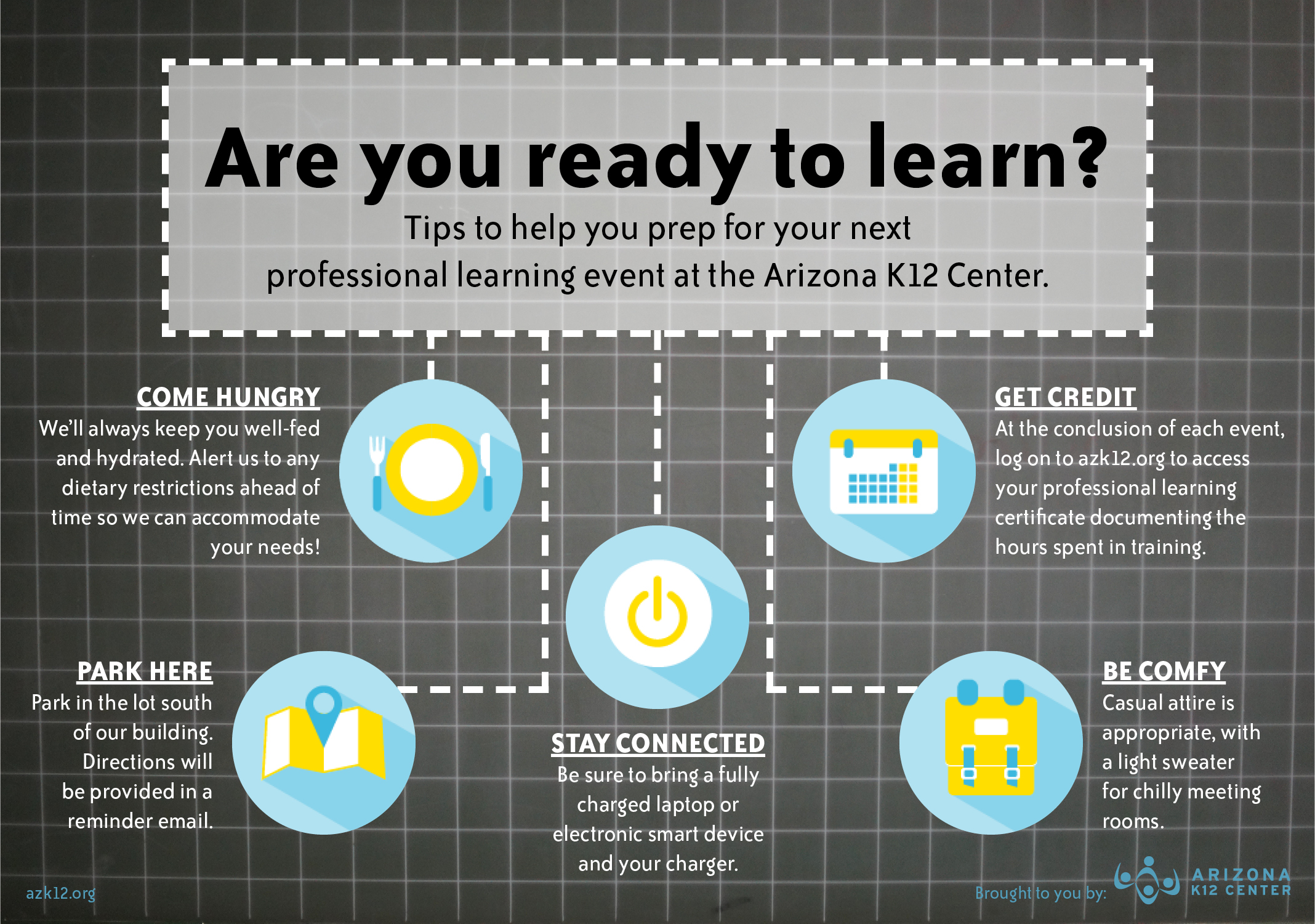 Tips for Learning with the Arizona K12 Center