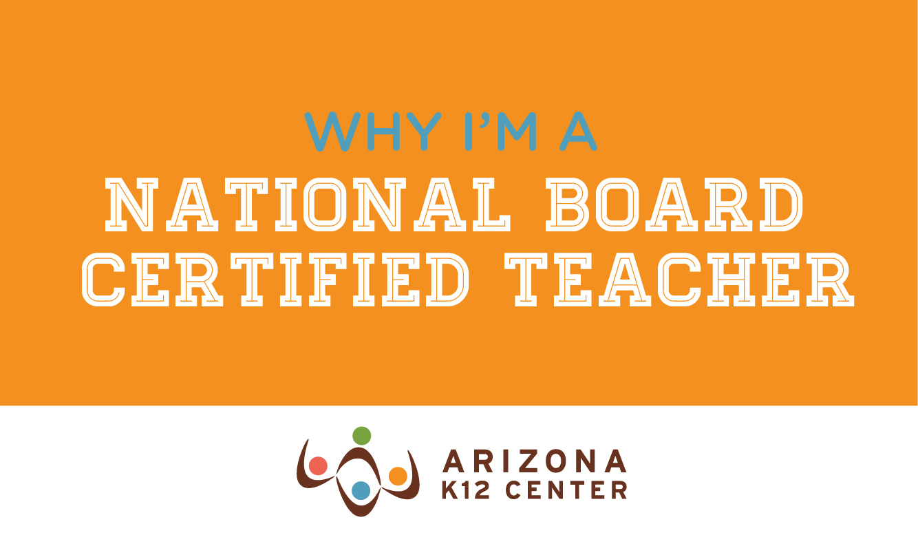 Why I'm a National Board Certified Teacher